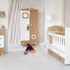 Baby room. With new furniture and toys Stock Photo