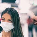 Coronavirus corona virus prevention for COVID-19 banner. Hand sanitizer alcohol gel rub vs washing hands hygiene in