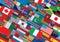 Stock Image : Światu Chorągwiany tło Przygotowywający dla Twój projekta & teksta