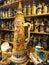 Stock Image : Αίθουσα εκθέσεως των βαυαρικών κουπών μπύρας κεραμικών