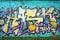 Stock Image :  Γκράφιτι τοίχων