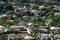 Stock Image :  Κεραία της πόλης Manoa με το σπίτι κάτω από την κατασκευή