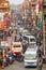Stock Image :  Κυκλοφοριακή συμφόρηση και ατμοσφαιρική ρύπανση στο κεντρικό Κατμαντού
