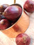 Stock Image :  Κόκκινα κρεμμύδια
