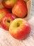 Stock Image :  κόκκινο μήλων