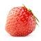 Stock Image :  Μούρο φραουλών που απομονώνεται στο λευκό