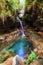 Stock Image :  Μπλε λίμνη Isalo
