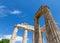Stock Image :  Ναός Zeus σε αρχαίο Nemea, Πελοπόννησος, Ελλάδα