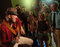 Stock Image :  οι θαυμαστές πλήθους συναυλίας ζουν