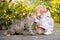 Stock Image : Πορτρέτο του μικρού κοριτσιού