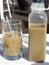 Stock Image : πράσινος καταφερτζής χυμού