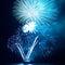 Stock Image :  Πυροτεχνήματα, χαιρετισμός