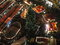 Stock Image :  Πλήθος στην τοπική άποψη αγοράς Χριστουγέννων τή νύχτα