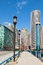 Stock Image :  Σύγχρονα κτήρια στην οικονομική περιοχή στη Βοστώνη - ΗΠΑ