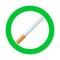 Stock Image : Καπνίζοντας σημάδι περιοχής