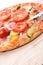 Stock Image :  Χορτοφάγος πίτσα