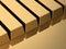 Stock Image : Χρυσοί φραγμοί