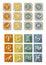 Stock Image :  Όλο Zodiac το εικονίδιο συμβόλων