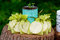 Stock Image :  Благосклонности свадебного банкета мыла