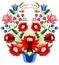 Stock Image : Венгерская фольклорная корзина