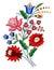 Stock Image : Венгерский фольклорный мотив