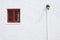 Stock Image :  Винтажное красное окно