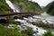 Stock Image : Водопад Lotefossen