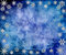 Stock Image :  Голубая винтажная предпосылка снежинок