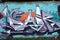 Stock Image :  Граффити стены