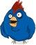 Stock Image : Грубая птица