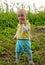 Stock Image :  еда мальчика яблока