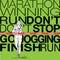 Stock Image :  Женская иллюстрация эскиза бегуна