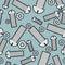 Stock Image :  Железные болты и чокнутая безшовная предпосылка Картина крепежных деталей металла