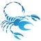 Stock Image : Знак звезды зодиака Scorpio