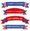 Stock Image :  Знамя/знамена США патриотические