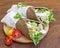 Stock Image :  Здоровый, зерно освобождает, vegetable обручи