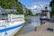 Stock Image :  Канал Gota во время лета