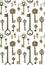 Stock Image :  Картина ключей