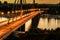 Stock Image :  Мост Novi свободы унылое
