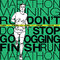 Stock Image :  Мужская иллюстрация эскиза бегуна