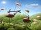 Stock Image :  Муравьи турнира на птицах, сказах муравья