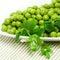 Stock Image :  Овощи зеленых горохов