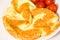 Stock Image :  Омлет с томатом
