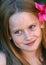 Stock Image : помадка ребенка