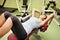 Stock Image : Потеха фитнеса