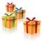 Stock Image : Подарочные коробки картона
