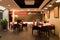 Stock Image : ресторан штанги нутряной самомоднейший