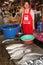 Stock Image : Рыбы Меконга, котор нужно продать