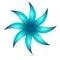 Stock Image :  сеть вектора логоса глобуса