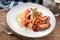 Stock Image : спагетти marinara